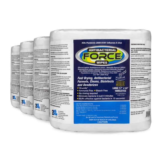 2XL-401 Disinfectant wipes - 900 ct. Refill